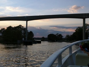 Boat from Fort Wilderness to Magic Kingdom