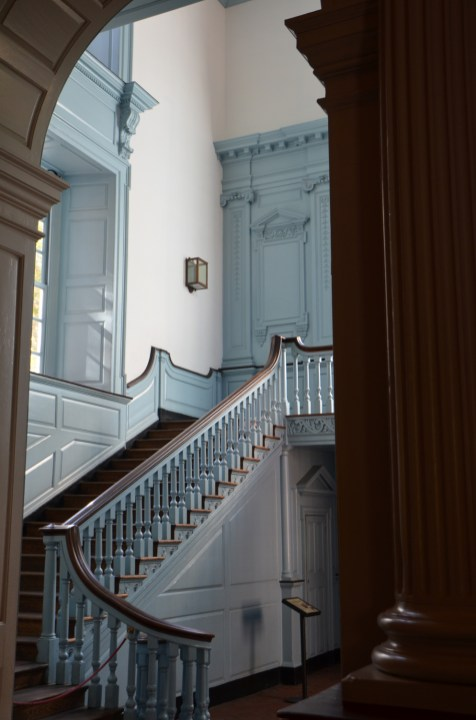 Stairs inside Independence Hall