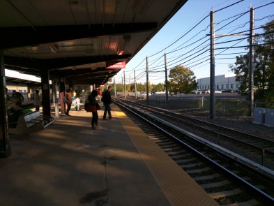 PATCO line train station