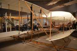 Wright Flyer. Didn't know I was going to Kitty Hawk later. We lived near Dayton Ohio for a year or so when I was little, and I remember one of these there at the museum at Wright Patterson AFB.