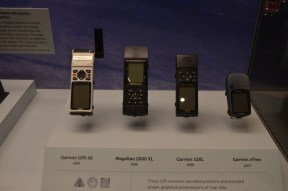 Ha, my old GPS is on display. The Magellan 2000 XL was my first GPS.
