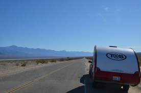 Heading south down Panamint Valley.