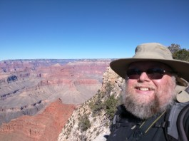 Selfie (with canyon in focus :))