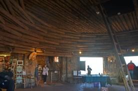 Ground floor of desert watchtower