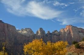Fall color near the south entrance.