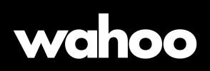Wahoo White On Black RGB Logo