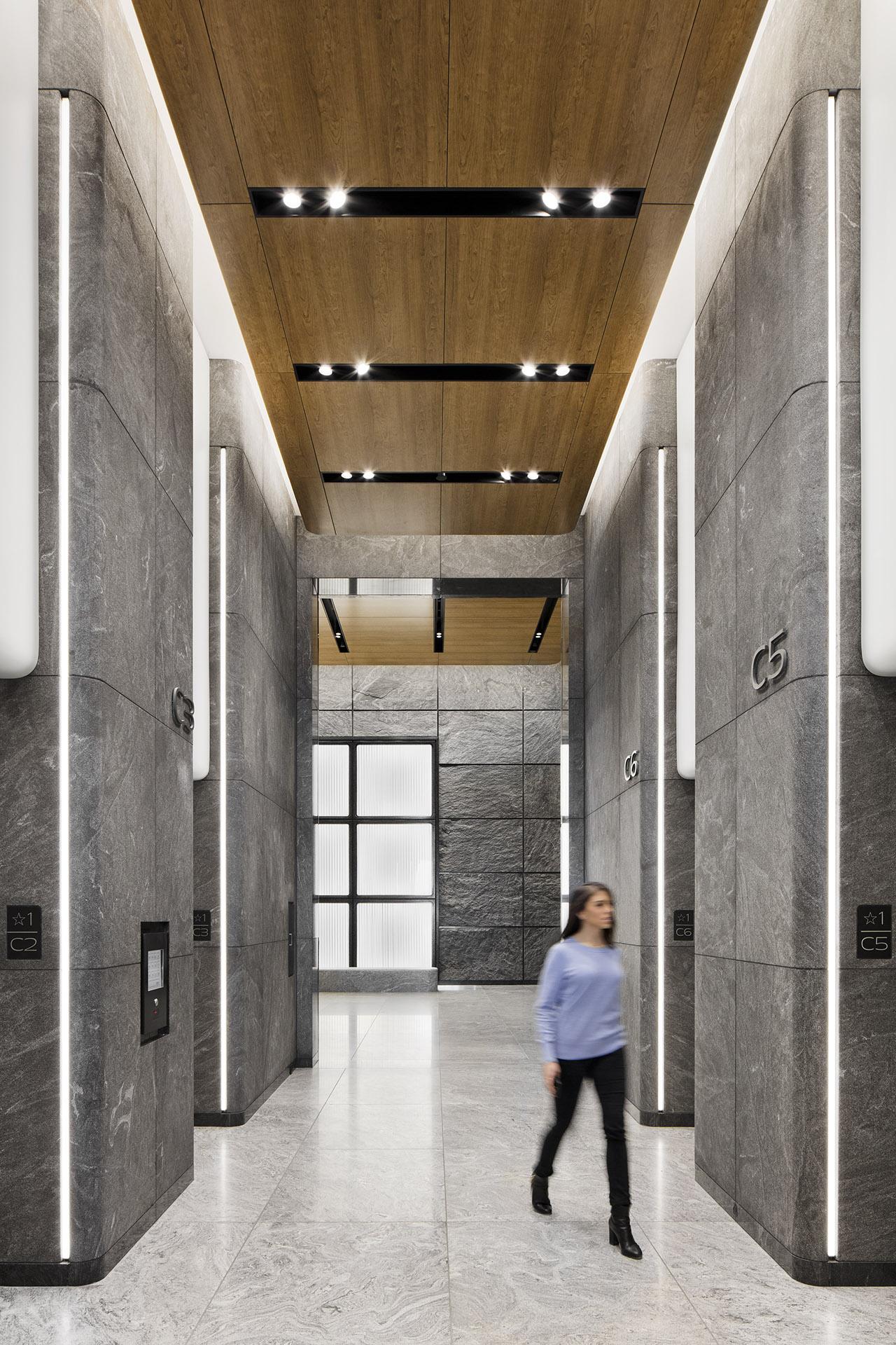 55 Hudson Yards Lobby One Lux Studio