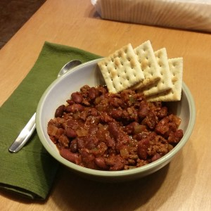 Stove top or slow cooker chili recipe | One Mama's Daily Drama --- The perfect easy, filling meal on a busy fall or winter day!
