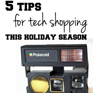 5 tips for tech shopping this holiday season