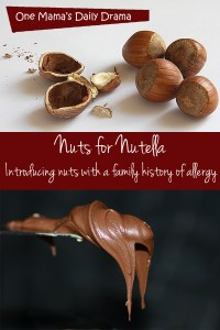 How to introduce nuts with family allergy history