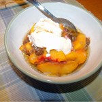 Peach Fruit Crisp recipe