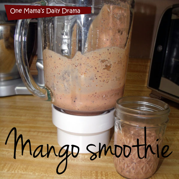 Mango smoothie recipe | One Mama's Daily Drama