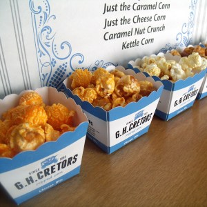 G.H. Cretors popped corn review