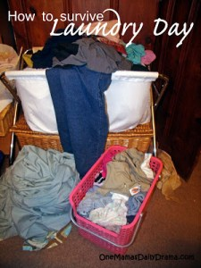 How to survive laundry day