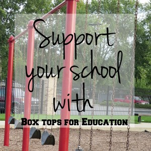 Support your school with Box Tops for Education