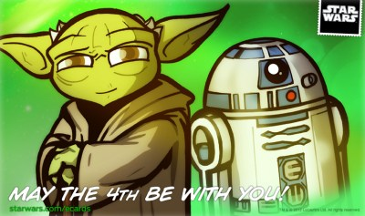 Star Wars Day ecard