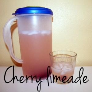 Cherry limeade   One Mama's Daily Drama