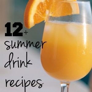 12+ summer drink recipes   One Mama's Daily Drama --- Summer drink recipes for every occasion! Includes smoothies, cocktails, party punch, & more.
