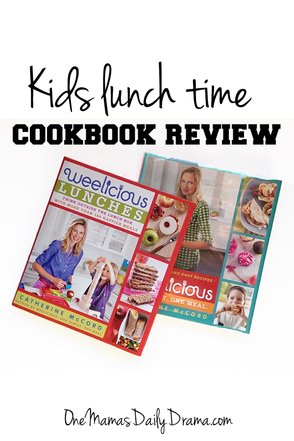 Kids lunch time cookbook review | One Mama's Daily Drama --- This cookbook is good for kids of a wide age range and isn't just for lunch.
