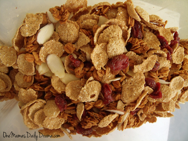 Homemade oat cluster cereal recipe   One Mama's Daily Drama