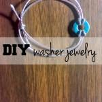 Washer jewelry DIY