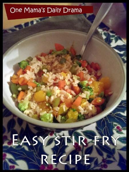 stir-fry recipe
