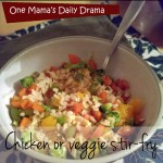 Chicken or veggie stir-fry recipe