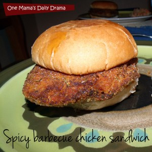 http://onemamasdailydrama.com/spicy-barbecue-chicken-sandwich-recipe/