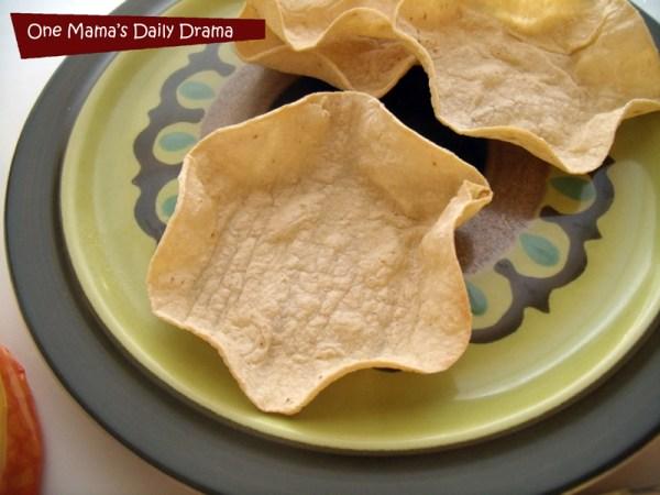Tex-Mex taco bowl shells