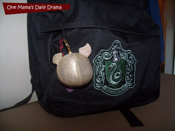 DIY Hogwarts backpack | One Mama's Daily Drama