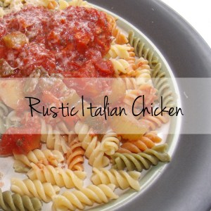 Rustic Italian chicken recipe