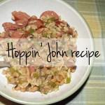 Hoppin john recipe