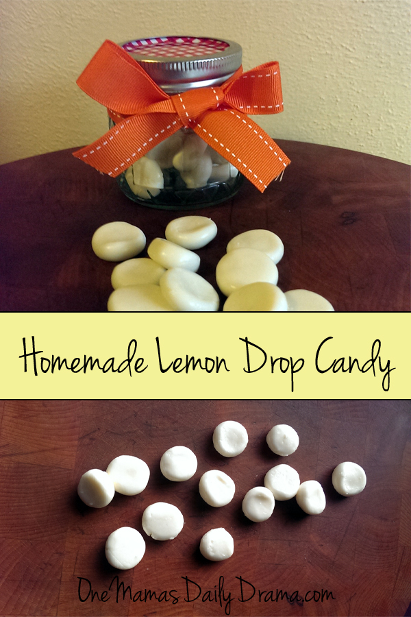 Homemade lemon drop candy recipe | One Mama's Daily Drama
