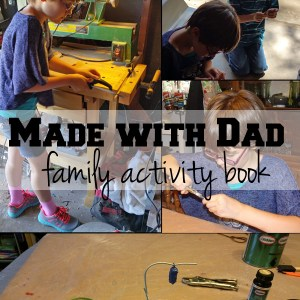 Made with Dad activity book