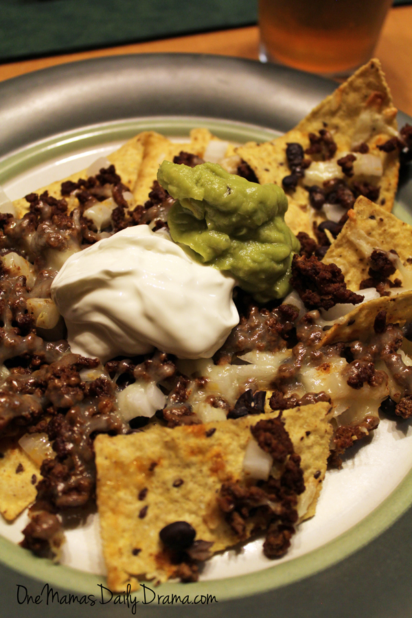 Loaded oven nachos | One Mama's Daily Drama --- This recipe is a fun way to make this faster food favorite for a crowd.