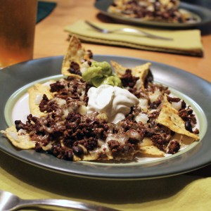Loaded oven nachos recipe