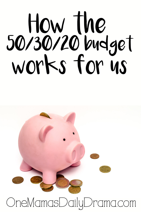 How the 50/30/20 budget works for us | Real life budget planning