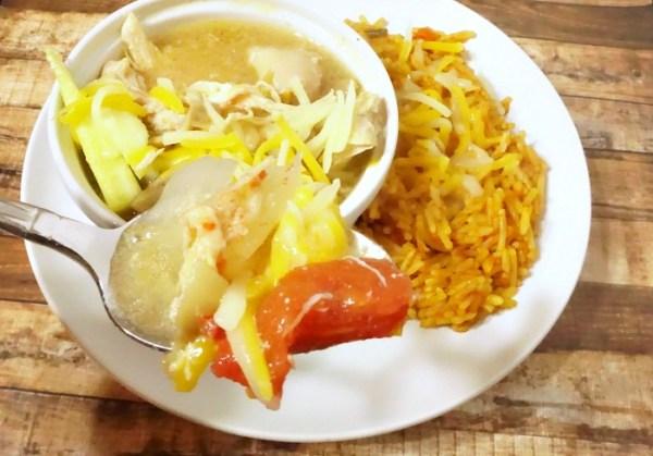 Slow cooker chicken fajita stew