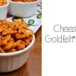 Cheesy taco Goldfish® snack mix