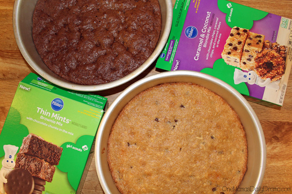 Sweet school year treat box with Pillsbury™ Girl Scout Cookie™ Inspired Baking Mixes