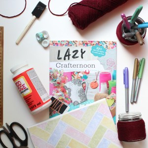 Have a lazy crafternoon with this new tween craft book