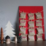 DiY 12 Days of Christmas countdown calendar