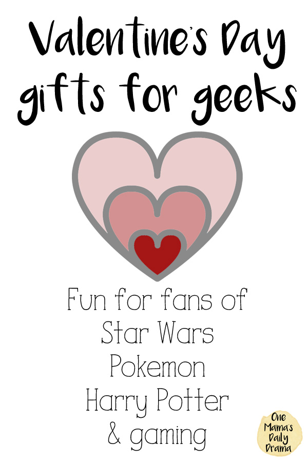 Valentine's Day gifts for geeks | Star Wars, Pokemon, Harry Potter, video gaming