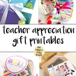 8 teacher appreciation gift printables