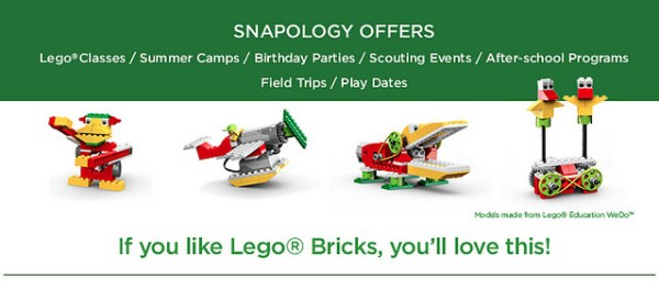 Snapology has fun classes, camps, and party ideas for kids in Houston!