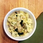 Chicken zucchini pesto tortellini | One Mama's Daily Drama
