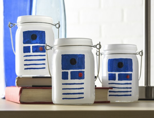 R2D2 luminaries from DiY Candy