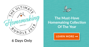 Ultimate Homemaking Bundle {limited-time offer}