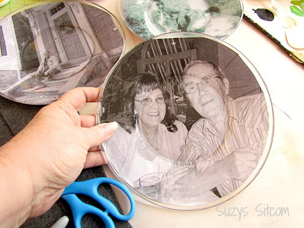 Personalized photo plates: the photo attached to the plate