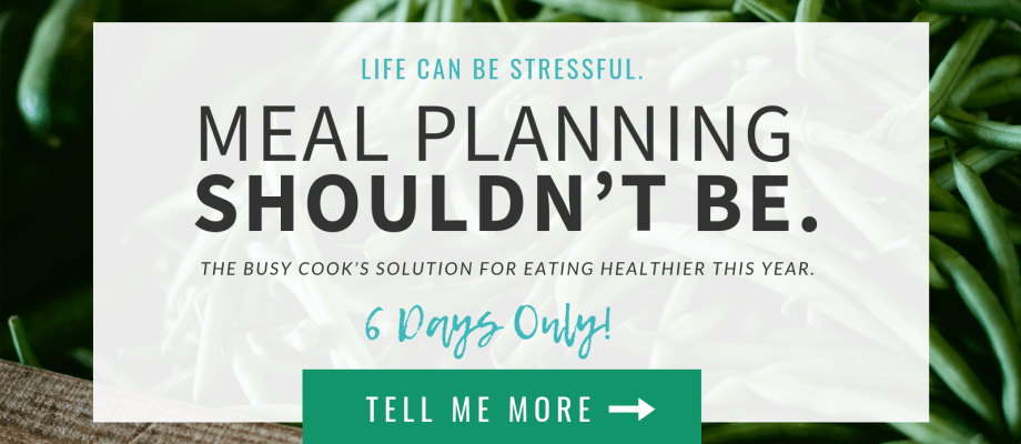 Life can be stressful. Meal planning shouldn't be. The Healthy Meal Planning Bundle is the key to organized meal planning in 2019!
